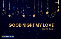 Good Night My Love I Miss You