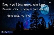 Goodnight My Love Sleep Well