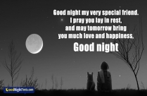 Good Night My Very Special Friend.