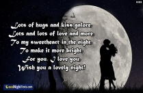 Good Night Text For Gf About