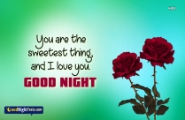 Love Feelings Goodnight Text