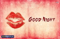Good Night Text Kisses