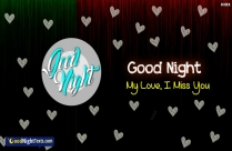 Good Night For Love