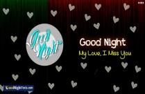 Good Night My Romantic