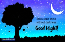 Good Night Text To Your Wife | Stars Cant Shine Without Darkness