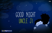 Good Night Uncle Ji