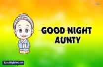 Good Night My Sweetest Aunt
