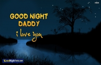 good night daddy images
