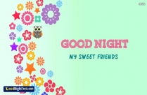 Goodnight My Sweet Friends