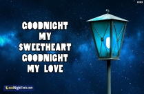 Goodnight My Sweetheart Goodnight My Love