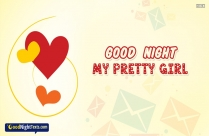 Good night Texts for your pretty girl