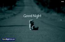 Gud Night Sad Image