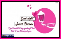 Sweet Dreams Babe Message