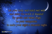Let Your Body And Mind Rest