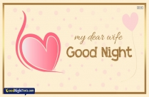 Good Night Dear Messages