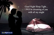 Romantic Good Night SMS For Wife