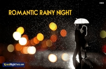 Romantic Rainy Night