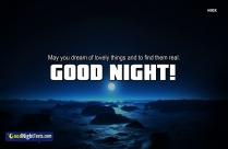 Good Night Sweet Quotes