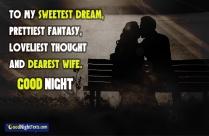 To My Sweetest Dream, Prettiest Fantasy